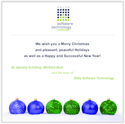 Delta Software Technology wishes you Happy Holidays...